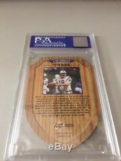1998 Playoff Contenders Peyton Manning Rookie of the Year PSA 10 Low Pop Die-Cut