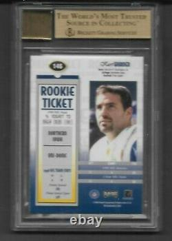 1999 Playoff Contenders Kurt Warner ROOKIE RC AUTO #146 BGS 9.5 10 Auto