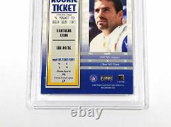 1999 Playoff Contenders SSD Kurt Warner #146 Rookie On Card Auto /1825 PSA 9
