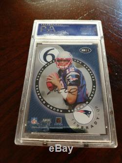 2000 Playoff Contender Round Numbers Auto RC Tom Brady Mark Bulger PSA 8 ON SALE