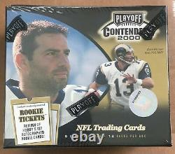 2000 Playoff Contenders Football Sealed Box possible Tom Brady Rookie Cards