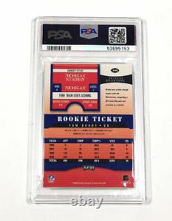 2000 Playoff Contenders Tom Brady #144 Rookie PSA/DNA On Card Auto 9