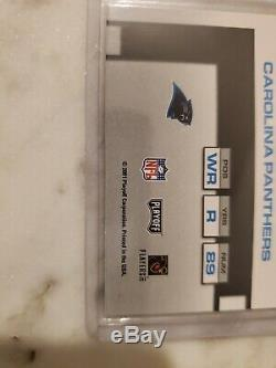 2001 Playoff Contenders Steve Smith ROOKIE Ticket AUTO Panthers Autograph RARE