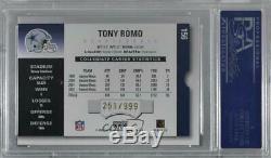 2003 Playoff Contenders /999 Tony Romo #156 PSA 10 Rookie Auto