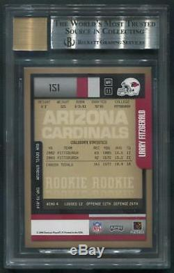2004 Playoff Contenders #151 Larry Fitzgerald Rookie Auto /50 BGS 9 (MINT)