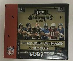2004 Playoff Contenders Football Hobby Box Factory Sealed