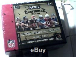 2004 Playoff Contenders Football Sealed Hobby Box Roethlisberger Auto RC