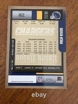 2004 Playoff Contenders Philip Rivers RC Ticket Auto #162 Rookie Nice Card