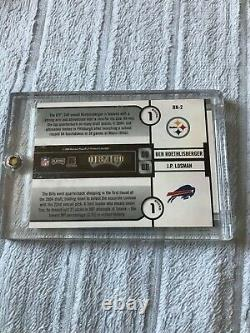 2004 Playoff Contenders RC ROUND Nos 1st RD DUAL AUTO #18/100 Ben Roethlisberger