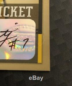 2004 Playoff Contenders Rookie Ticket Ben Roethlisberger, Autograph, Free Ship