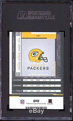 2005 Playoff Contenders Aaron Rodgers (Auto /530) -HOF Rookie RC- SGC 9 MINT