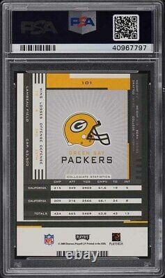 2005 Playoff Contenders Aaron Rodgers ROOKIE RC AUTO #101 PSA 10 GEM