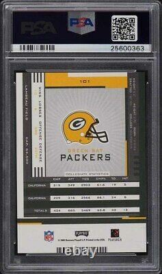 2005 Playoff Contenders Aaron Rodgers ROOKIE RC AUTO #101 PSA 10 GEM MINT