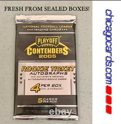 2005 Playoff Contenders HOBBY Pack (Aaron Rodgers Rookie RC AUTO Big Ben Gore)