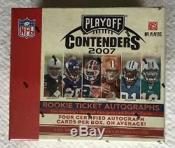 2007 Playoff CONTENDERS Hobby Box FACTORY SEALED Peterson LYNCH Johnson RC AUTO