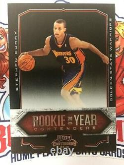 2009-10 Panini Playoff Contenders #10 Stephen Curry RC Rookie of The Year ROY