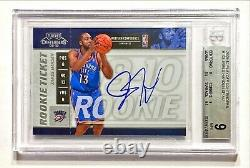2009-10 Panini Playoff Contenders JAMES HARDEN #103 Rookie Ticket Auto BGS 9/10
