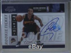 2009-10 Playoff Contenders #106 Rookie Ticket Stephen Curry Auto Basketball Card