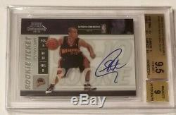 2009-10 Playoff Contenders Stephen Curry On-card Auto Rc Bgs 9.5 Gem Mint