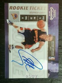 2009-10 Stephen Curry Playoff Contenders Auto RC- #106. Is it a PSA 10