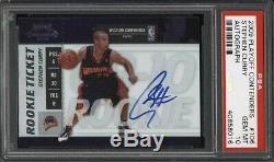 2009 Playoff Contenders Autograph Stephen Curry #106 PSA 10 GEM MINT ROOKIE RC