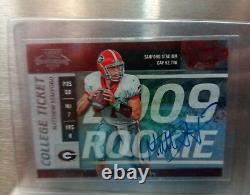 2009 Playoff Contenders College Rookie RC Auto Matthew Stafford #/61
