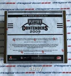 2009 Playoff Contenders Hobby Box 4 AUTO (Edelman Stafford Rookie Starr Namath)