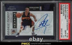 2009 Playoff Contenders Stephen Curry ROOKIE RC AUTO #106 PSA 10 GEM MINT