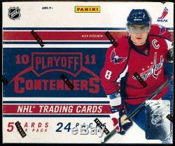 2010-11 Panini PLAYOFF CONTENDERS Hockey Hobby Factory Sealed Box (4 Auto's/Box)