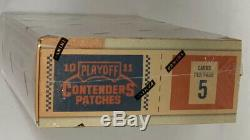 2010-11 Panini Playoff Contenders Patches Basketball Hobby Box Factory Sealed