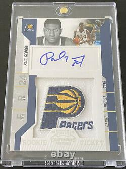 2010-11 Playoff Contenders PAUL GEORGE Rookie Ticket Patch Auto RPA