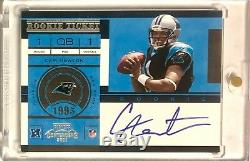 2011 Panini Playoff Contenders CAM NEWTON #228 Rookie Ticket Auto RC! HOT