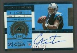 2011 Panini Playoff Contenders ROOKIE TICKET Cam Newton RC Rookie AUTO