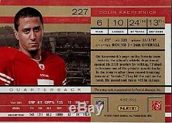 2011 Panini Playoff Contenders Rookie Ticket Colin Kaepernick Auto RC #227