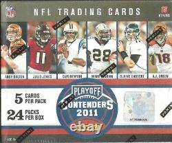 2011 Playoff Contenders Factory Sealed FB Hobby Box Cam Newton AUTO ROOKIE