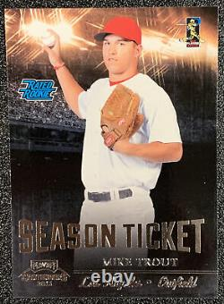 2011 Playoff Contenders Mike Trout Rated Rookie RC Glossy SP Sharp