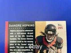 2013 Contenders DeANDRE HOPKINS Auto RC Variation Card # 205B