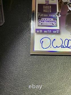 2015 Contenders Darren Waller Playoff Ticket Autograph Auto Rookie Rc (196/199)