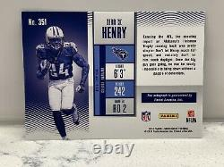 2016 Contenders Football Derrick Henry TITANS RC Rookie Playoff Ticket AUTO /25