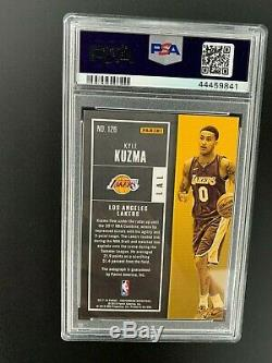 2017-18 Contenders Kyle Kuzma Auto /65 PSA 10 Rookie Playoff Ticket Lakers Rc