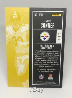2017 Contenders Football James Conner 65/99 Playoff Ticket Auto PRIZM Rookie RC