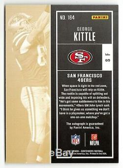 2017 Contenders George Kittle Playoff Ticket Rookie Auto /99 49ers TE