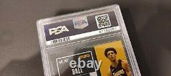 2017 Contenders Lonzo Ball Rookie Card Auto /65 Psa 9 Mint Playoff Ticket Bbb