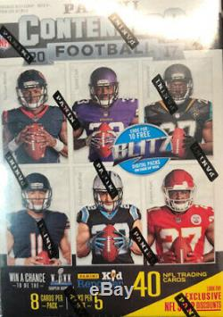 2017 Panini Contenders Football Sealed 20 Box Blaster Case Mahomes Rookie Card
