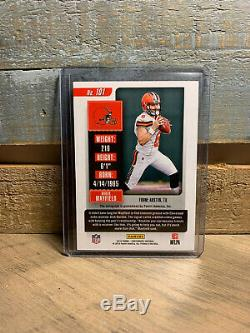 2018 Contenders Baker Mayfield Playoff Ticket Auto Variation /49 RC BROWNS