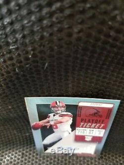 2018 Contenders Playoff Ticket Baker Mayfield Browns RC Rookie AUTO /99
