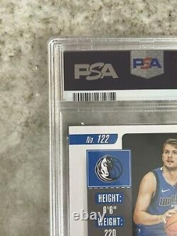 2018 Panini Contenders Luka Doncic Ball Waist Playoff Rookie Rc /65 PSA 10 AUTO