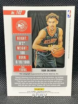 2018 Panini Contenders Trae Young /65 Playoff Ticket Rookie Auto RC