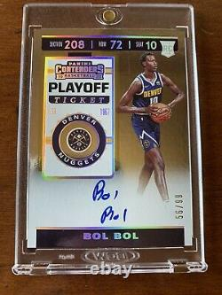 2019-20 Bol Bol Panini Contenders Playoff Ticket Rookie RC Auto Autograph #/99