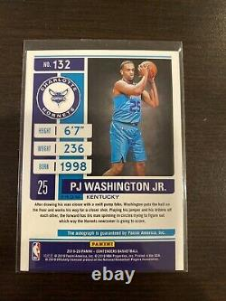 2019-20 Contenders PJ WASHINGTON Playoff Ticket Rookie Auto 33/99 PSA 10